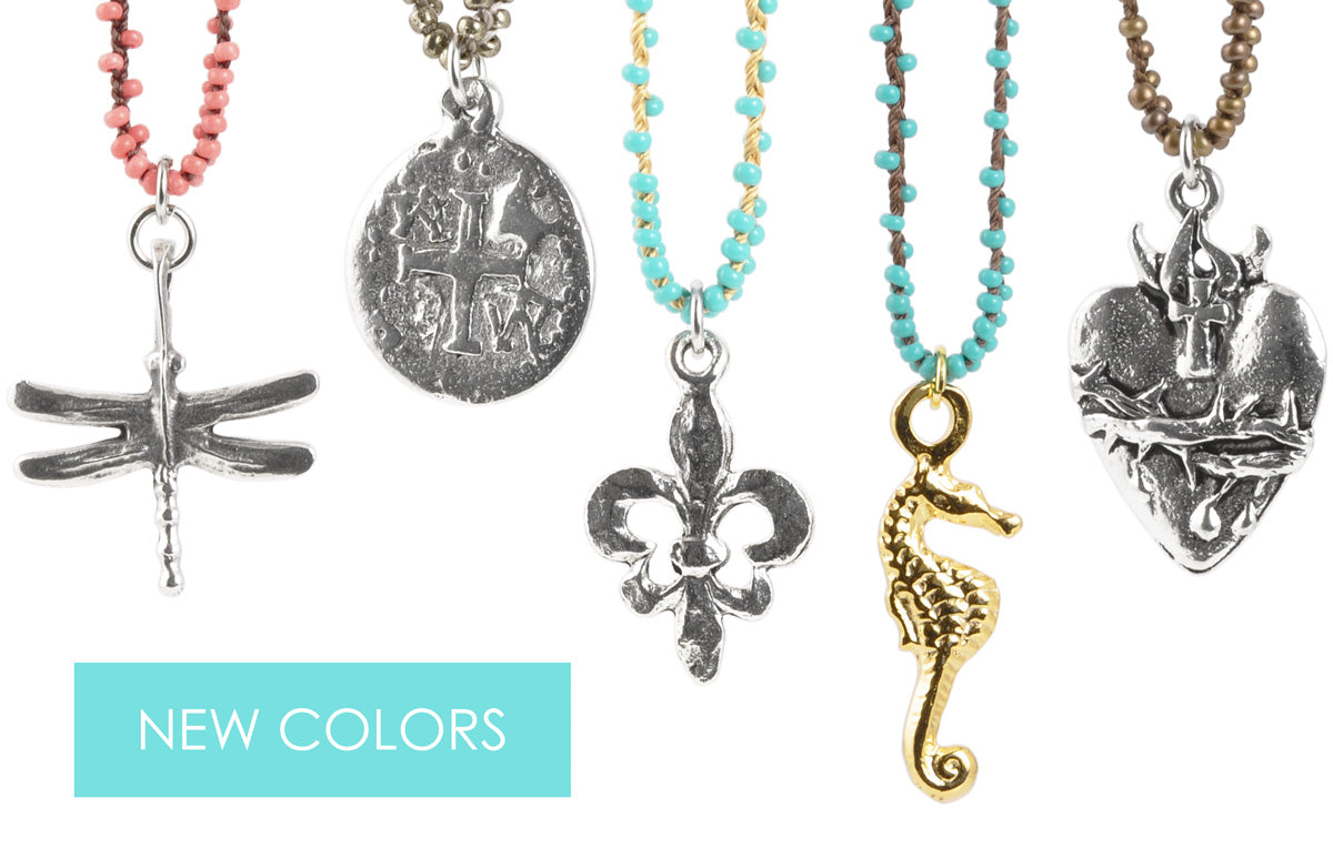Hand Braided Necklaces New Colors Tamara Scott Designs