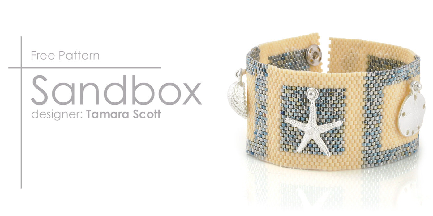 Sandbox Bracelet Free Beading Tutorial Tamara Scott Designs