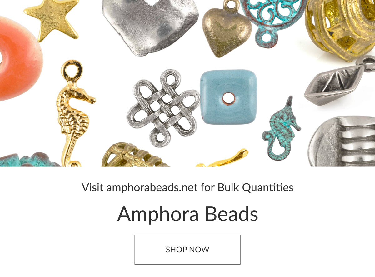 Shop Bulk Quantities Amphora Beads