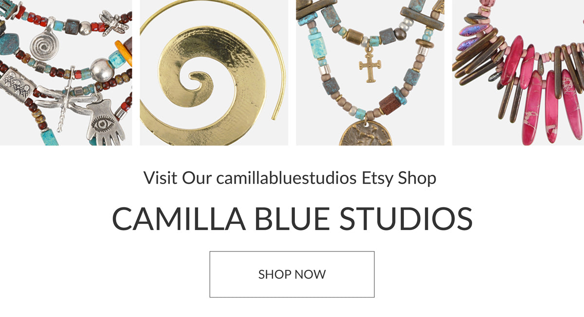 Shop Finished Jewelry Camilla Blue
