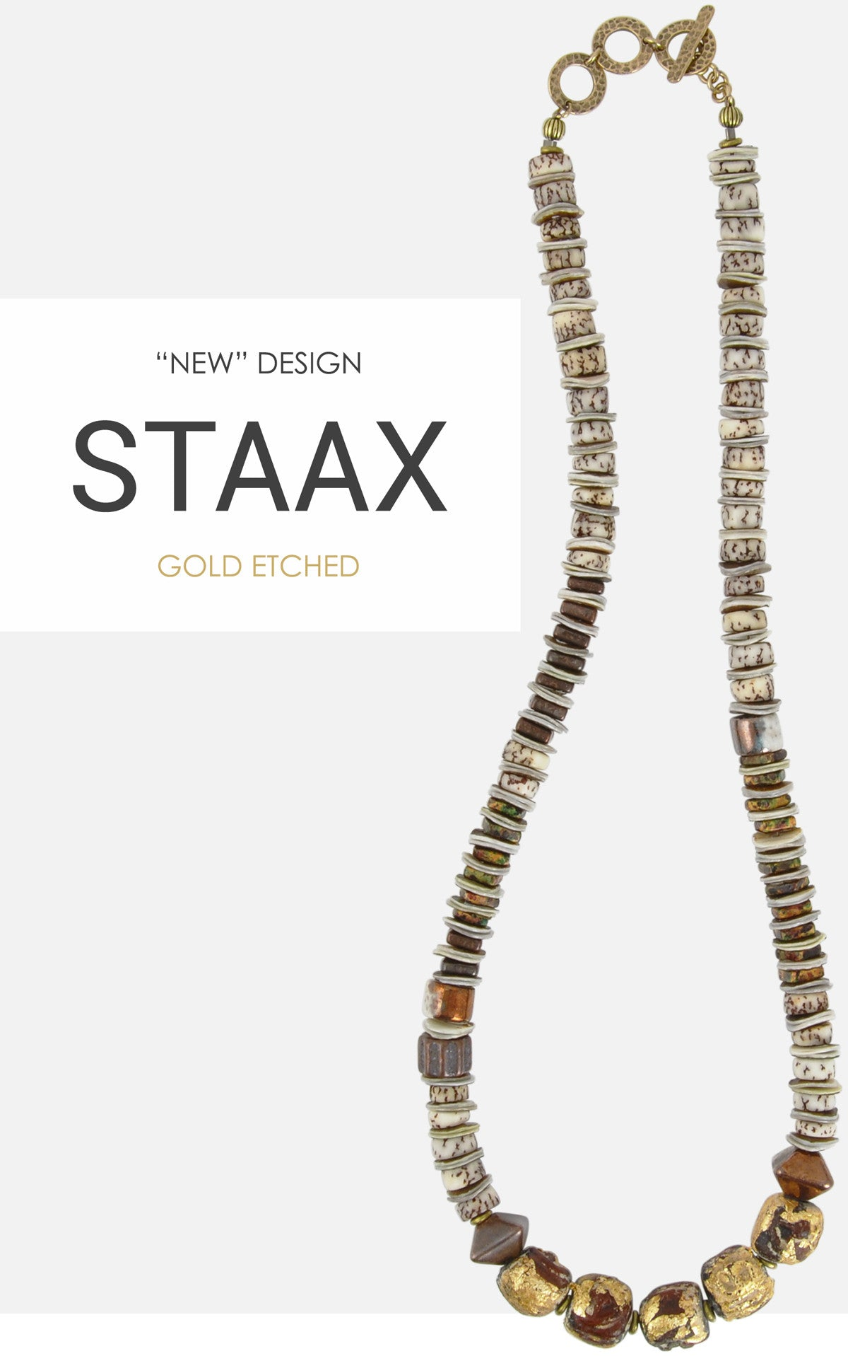 Staax Gold Etched Necklace Blog Tamara Scott Designs