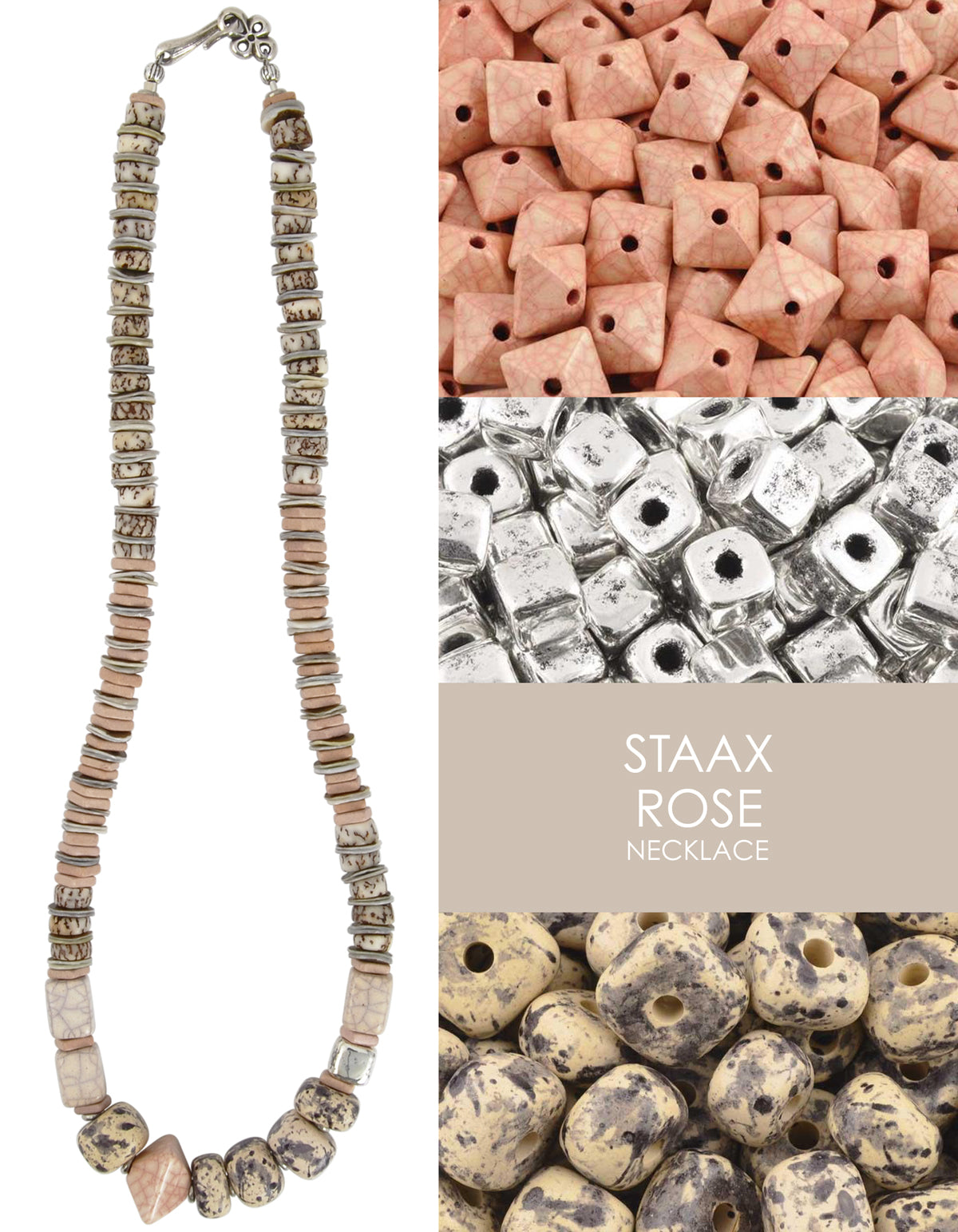 Staax Rose Necklace Tamara Scott Designs