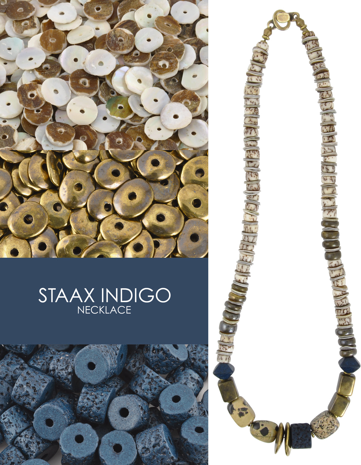 Staax Indigo Necklace Blog Tamara Scott Designs