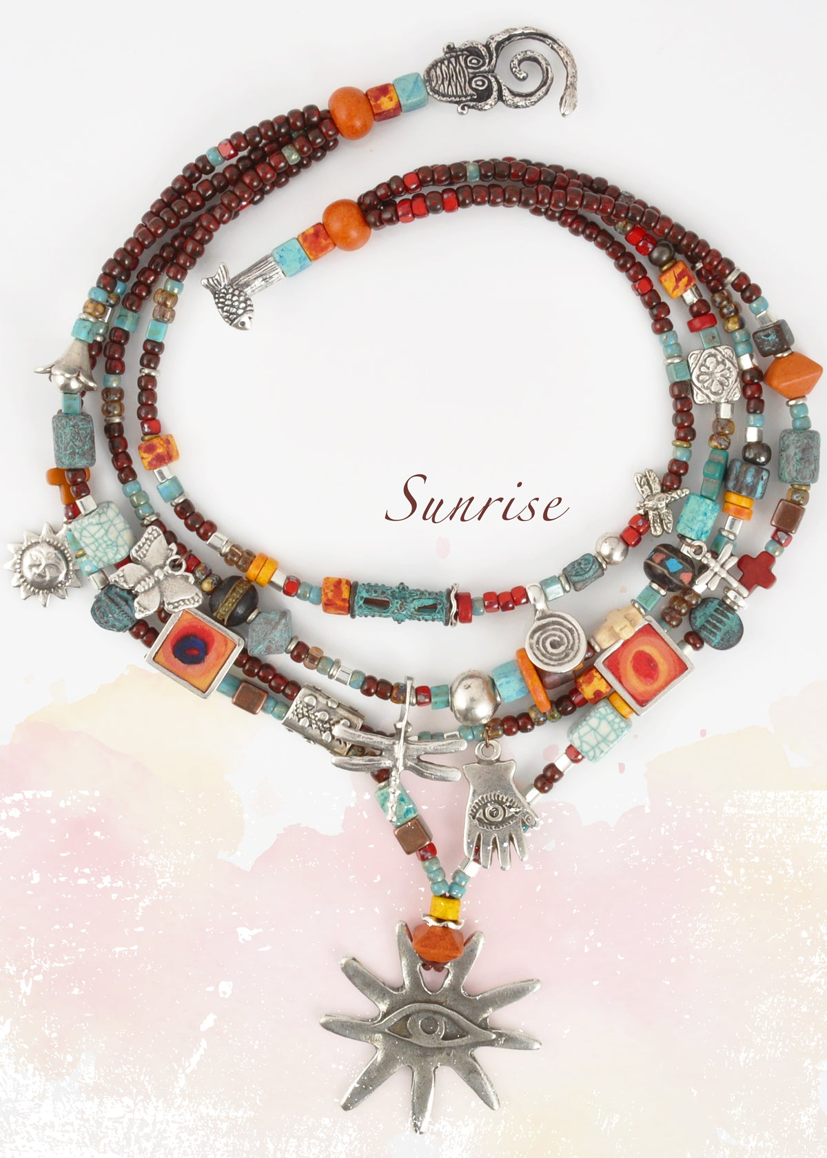 Sunrise Necklace Blog Tamara Scott Designs