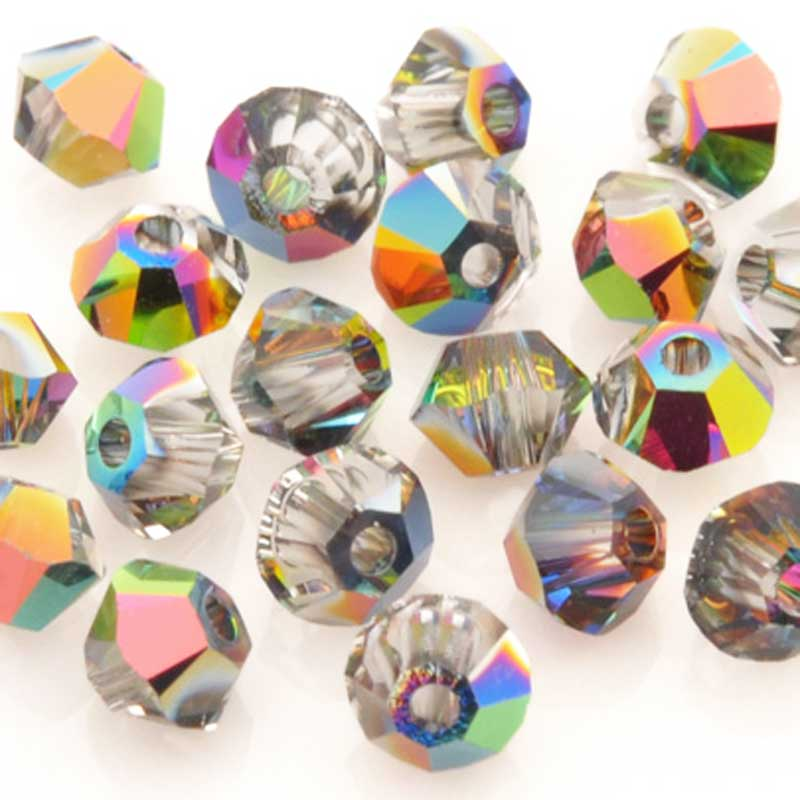 Crystal-3mm Swarovski Bicone-5328-Vitrail Medium