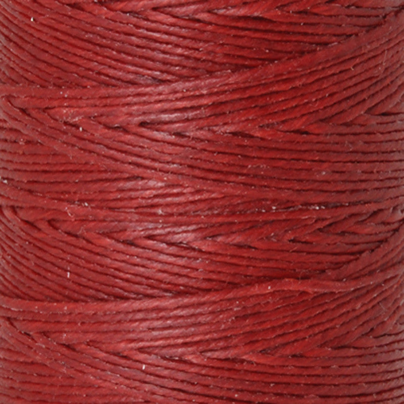 Supplies-3-Ply Waxed Irish Linen-Country Red