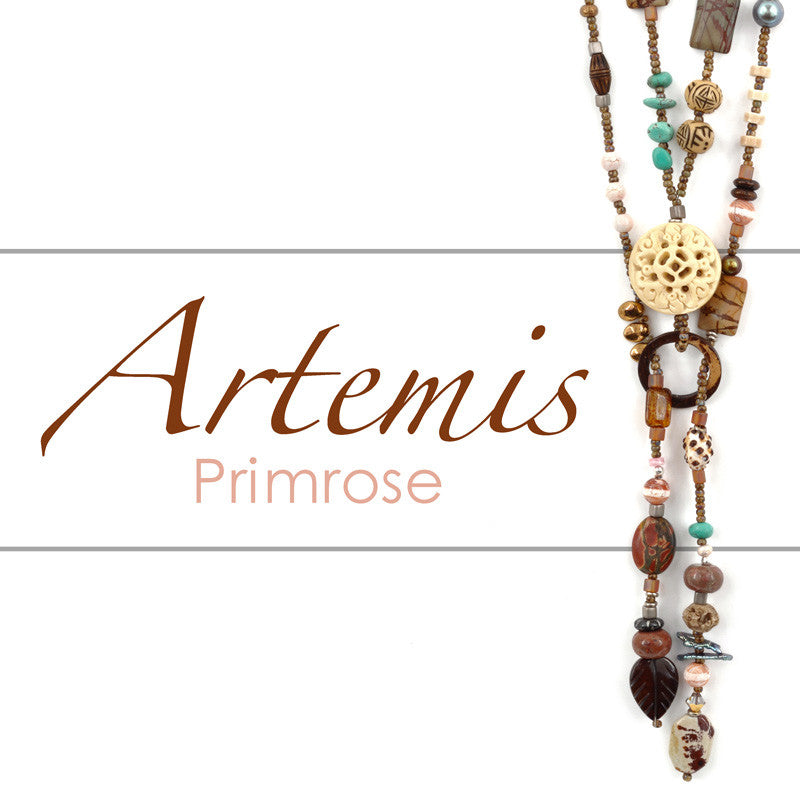 Beading Patterns-Pdf Pattern-Artemis Lariat-Primrose Account Required