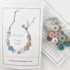 Bead Kits-Painted Lady-Single Bracelet Kit-Quantity 1