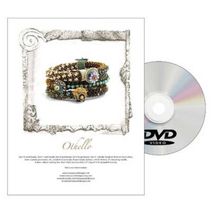 Beading Patterns-Dvd & Printed Pattern-Othello