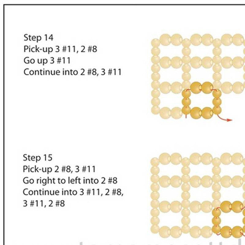 Beading Patterns-Leather and Lace-Pdf Pattern & Digital Video