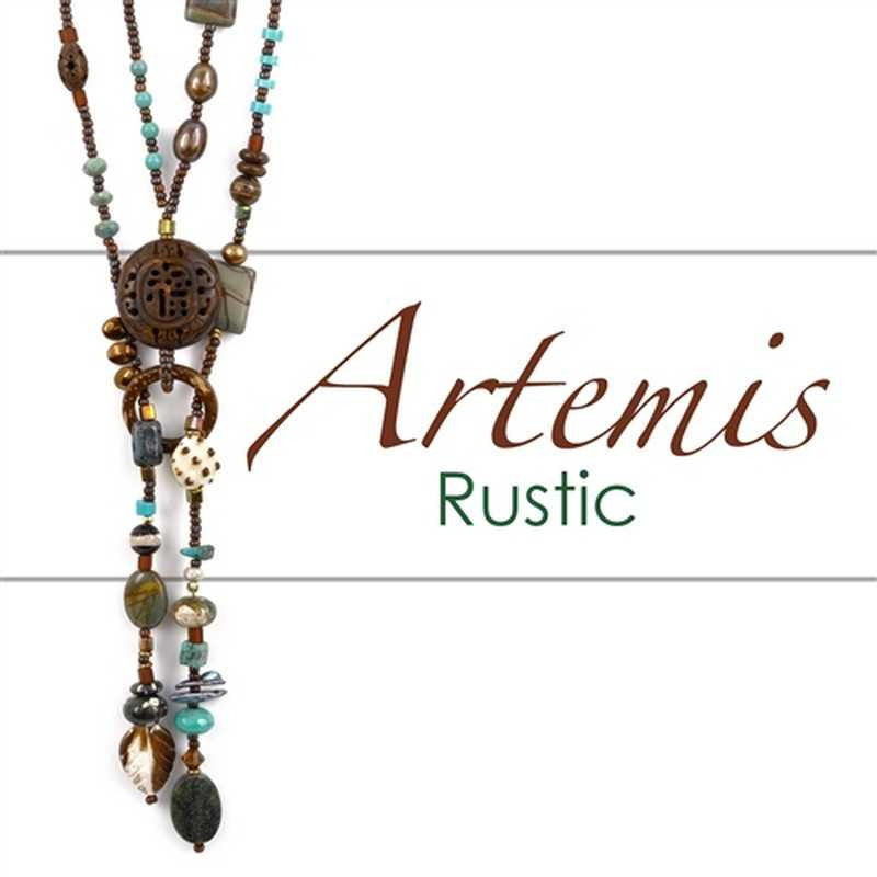 Beading Patterns-Printed Pattern-Artemis Lariat