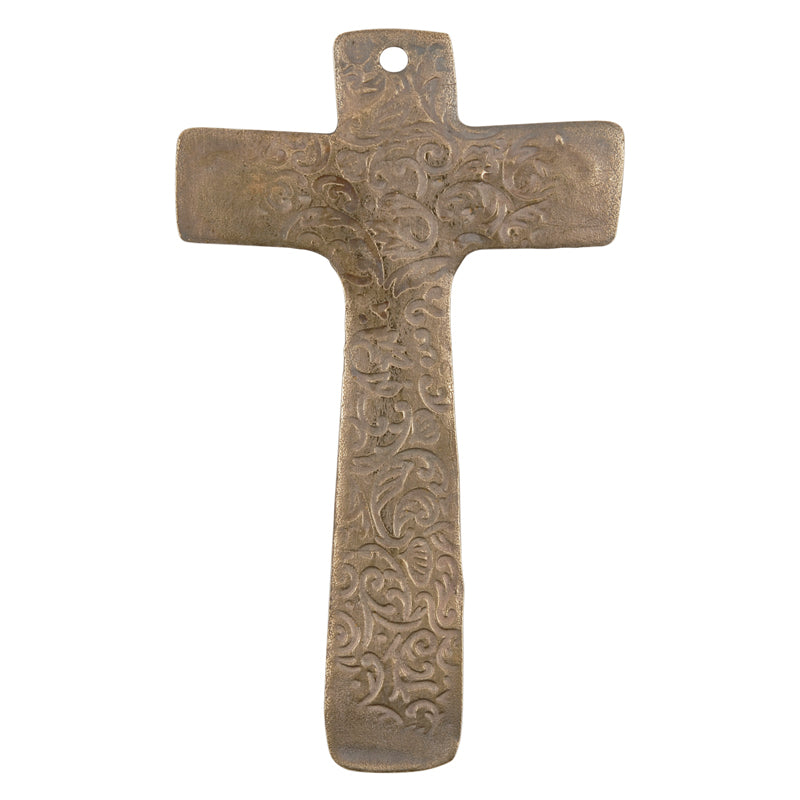 Bronze Casting-40x65mm Victorian Cross-XLarge-Weathered Grey-Quantity 1