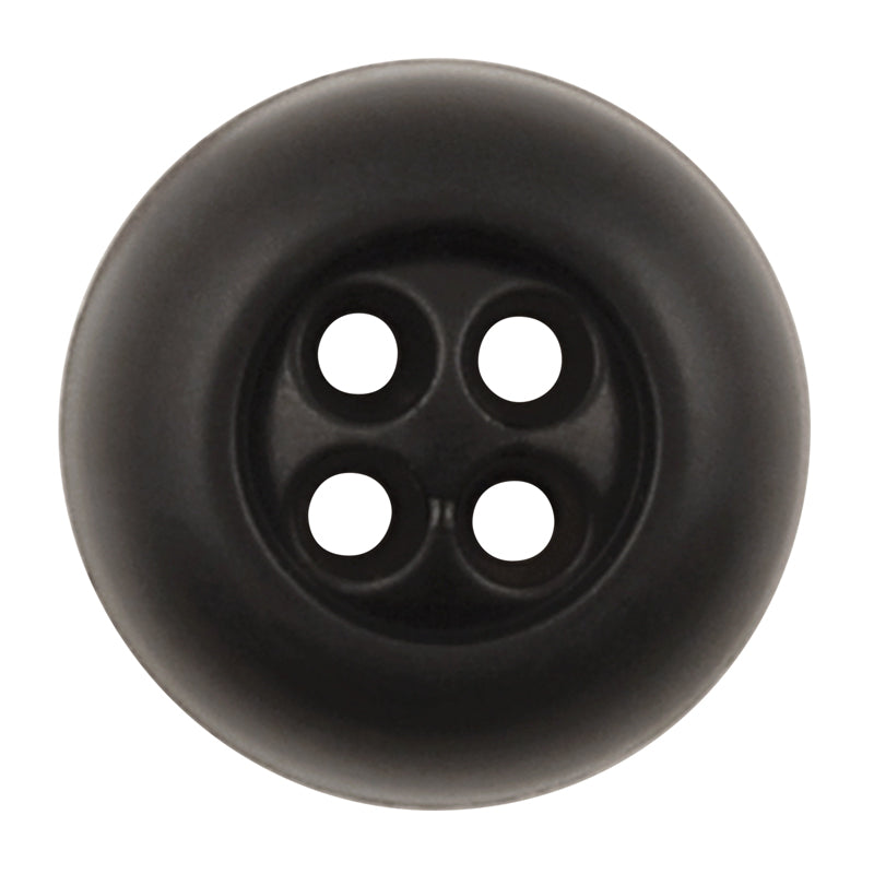 Button-9mm-Four Hole-Elne Black-Quantity 2