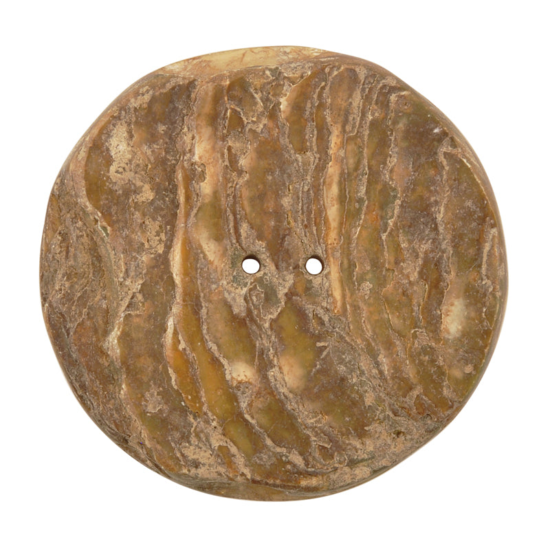 Button-45mm Mother of Pearl Shell-Vintage-No. 4-Quantity 1