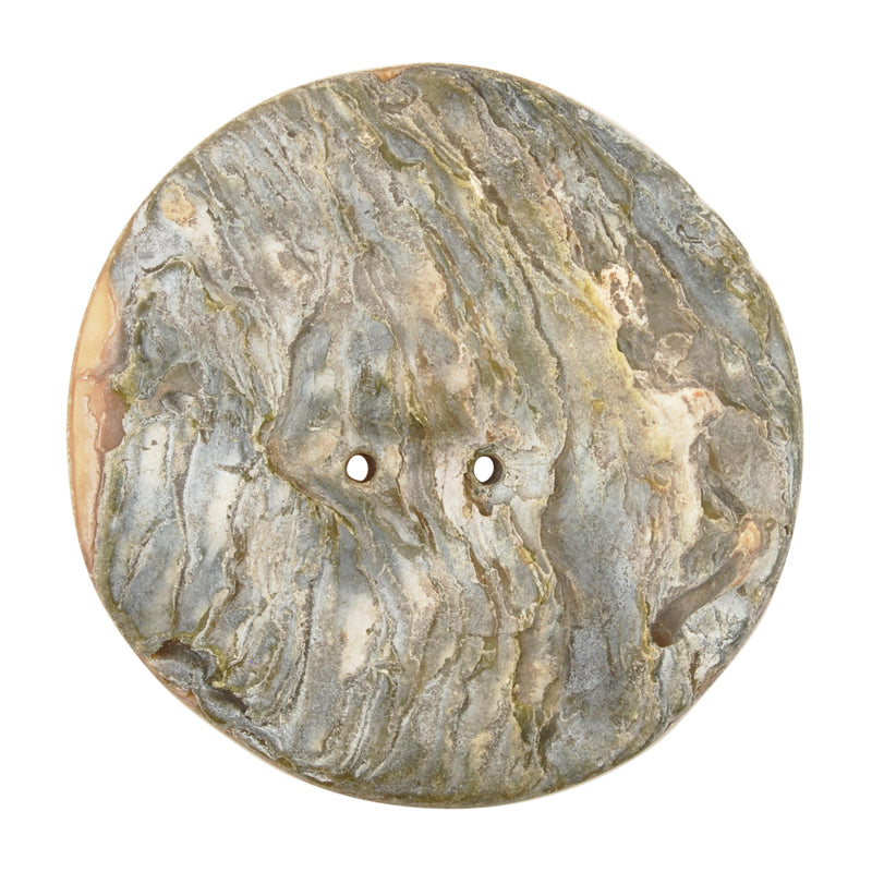 Button-45mm Mother of Pearl Shell-Vintage-No. 1-Quantity 1