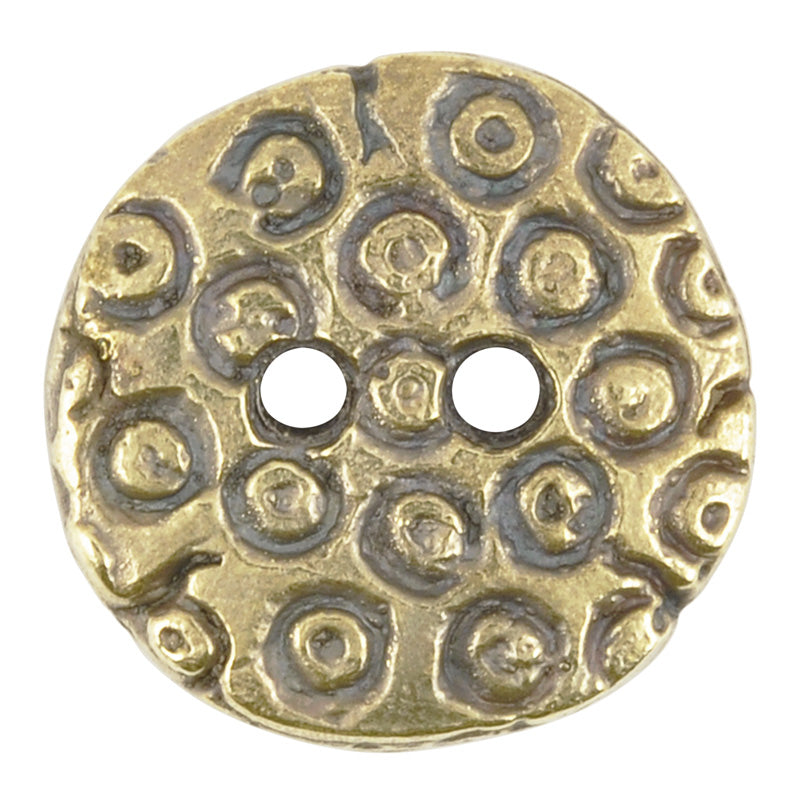 Button-20mm Circular-Casting-Antique Bronze