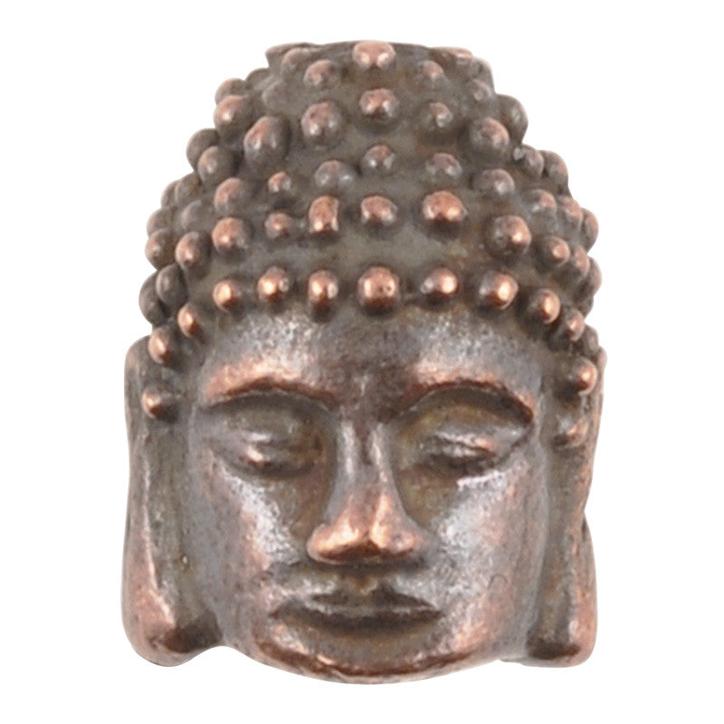 Casting-10x12mm Buddha-Antique Copper
