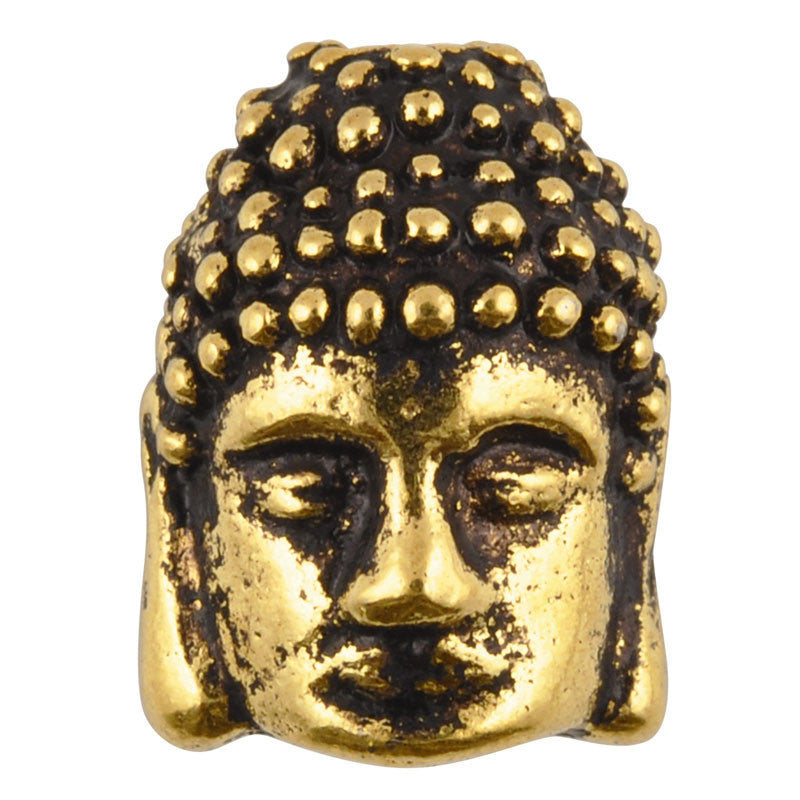 Casting-10x12mm Buddha-Antique Gold