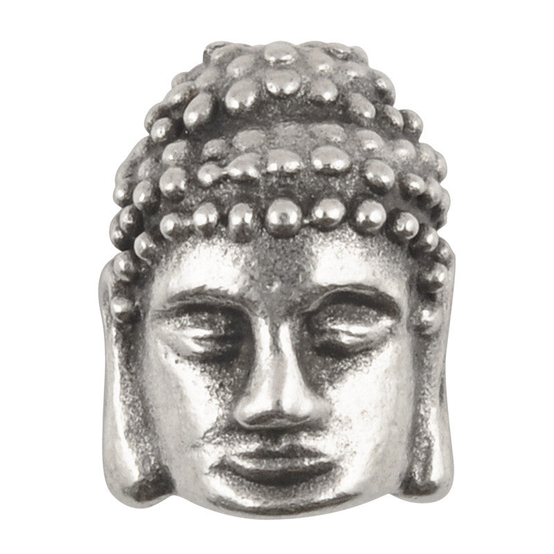 Casting-10x12mm Buddha-Antique Silver