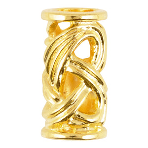Casting-11x16mm Ornamental Tube-Gold