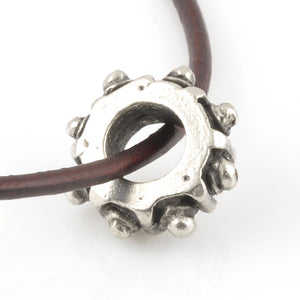 Casting-14mm Gear Bead-Antique Silver