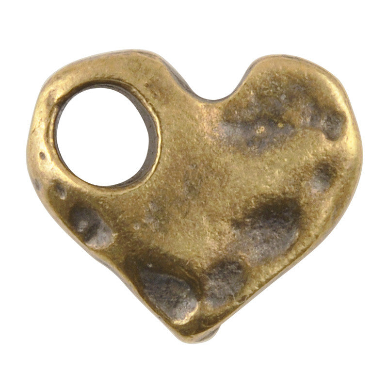casting-17x15mm-hammered-heart-large-hole-antique-bronze