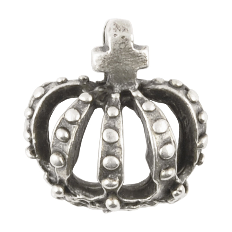 Casting-18mm Crown-Antique Silver