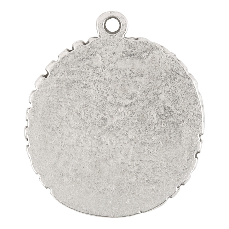 Castings-25x30mm Bezel-Antique Silver