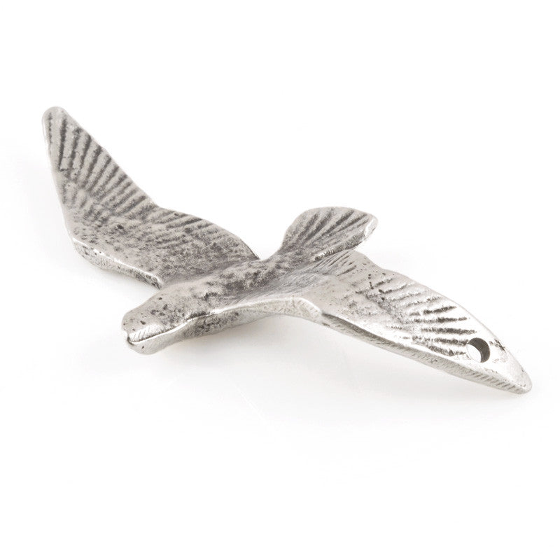 Casting-74x34mm Bird-Antique Silver