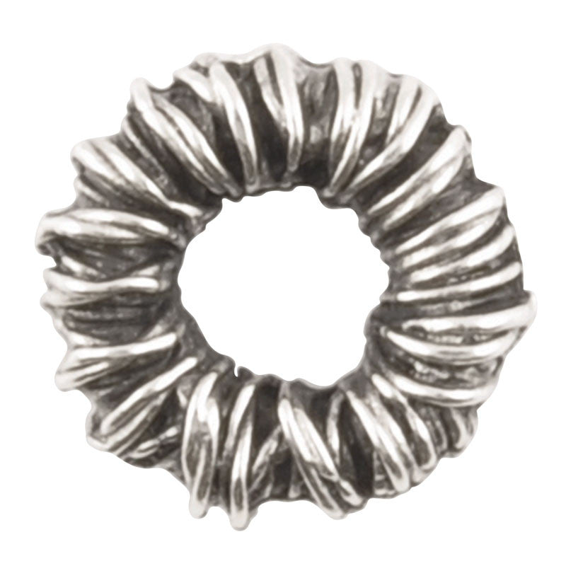 Casting-8mm Wrap Spacer-Antique Silver-Quantity 10