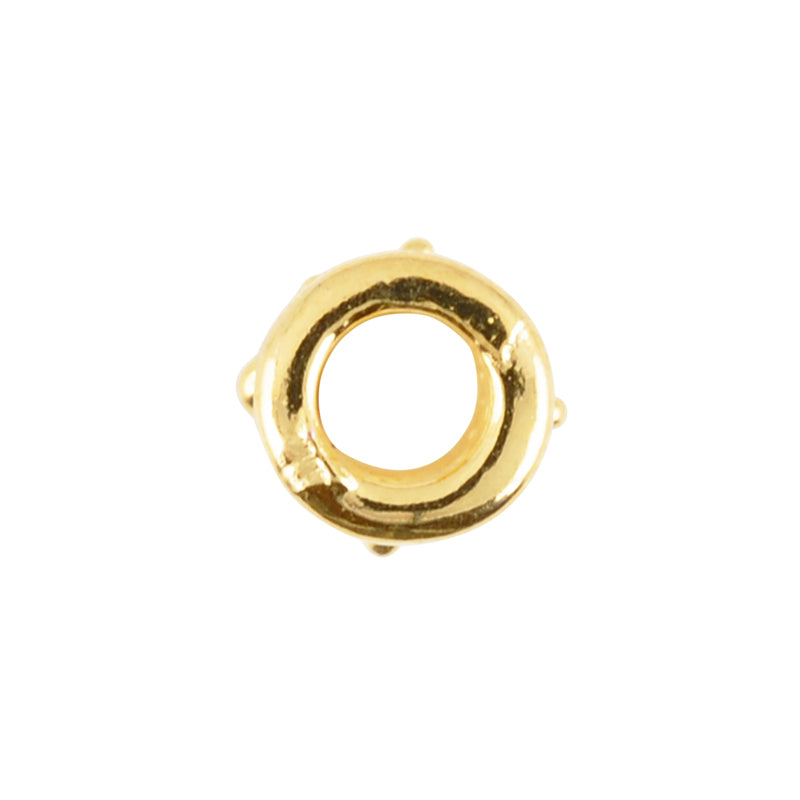 Casting-8x20mm Ornamental Tube-Gold