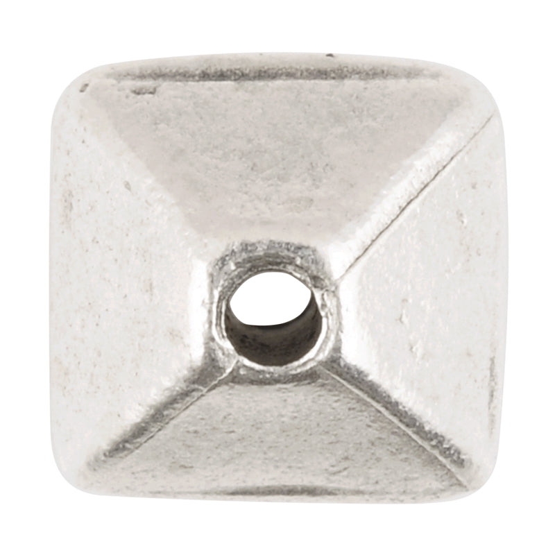Casting Beads-11mm Octahedron-Antique Silver