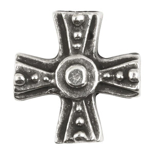 Casting Beads-15mm Maltese Cross-Antique Silver-Quantity 1