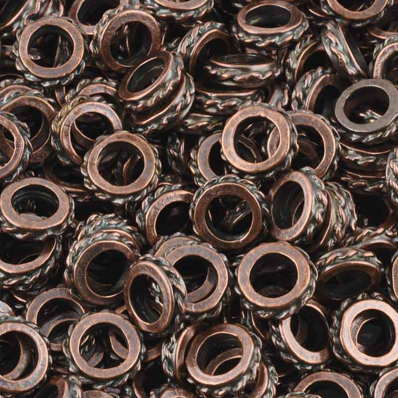Casting Beads-15mm Spacer-Antique Copper