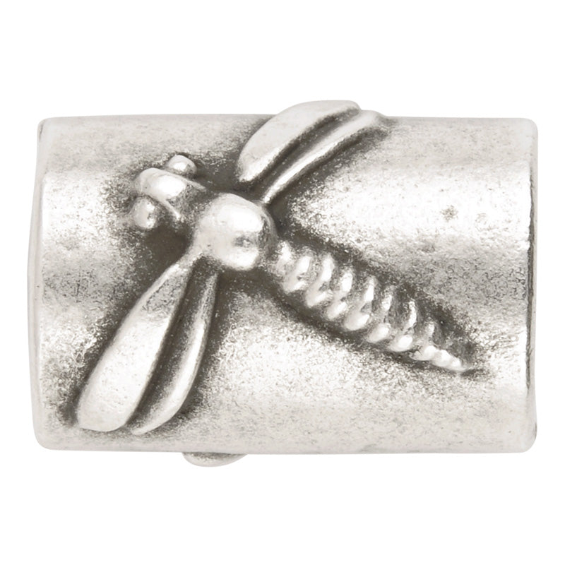 Casting Beads-15x20mm Dragonfly-Antique Silver