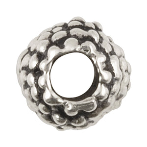 Casting Beads-7mm Coarse-Antique Silver