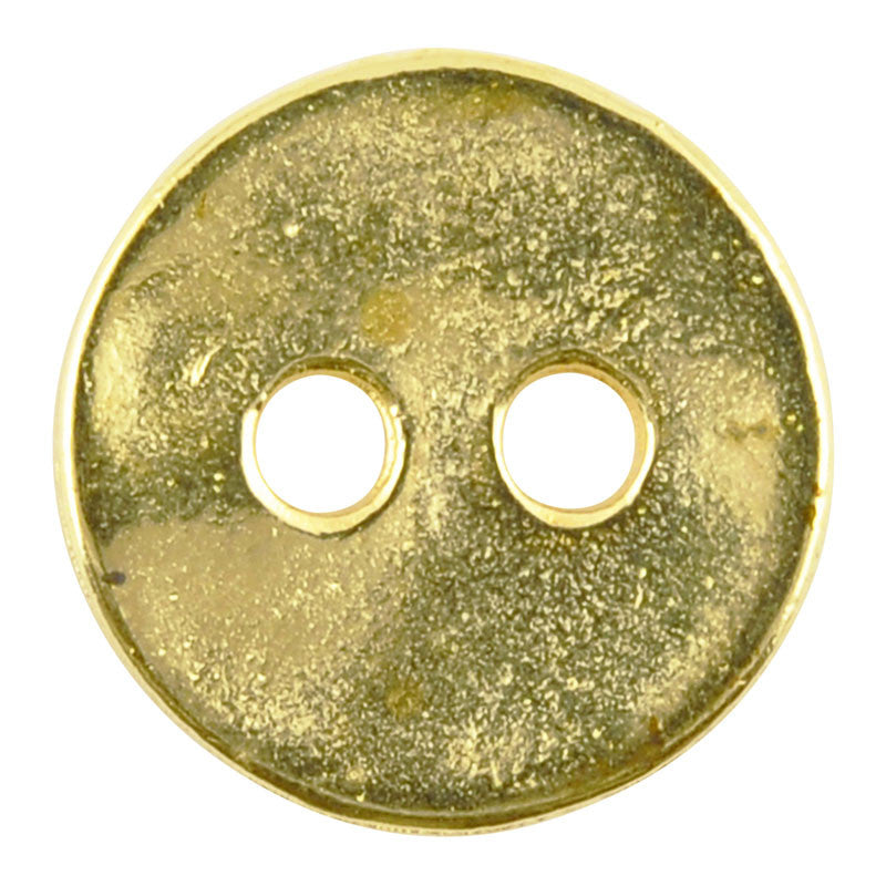Casting Button-12mm Vintage-Brass