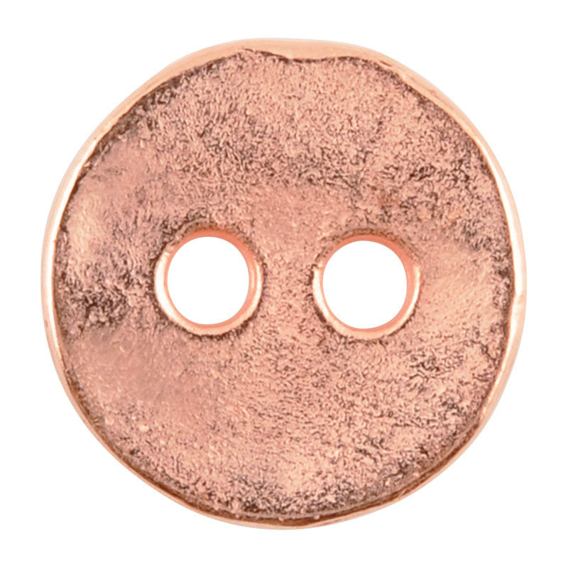 Casting Button-12mm Vintage-Copper