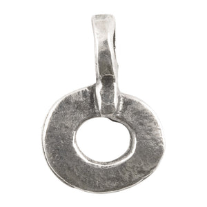 Casting Charm-11x16mm Ring-Antique Silver