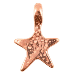 Casting Charm-12x19mm Star-Copper