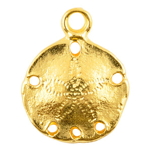 Casting Charm-Beach Mix-Gold-Quantity 5