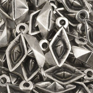 Casting Charm-11x22mm Paper Boat-Antique Silver