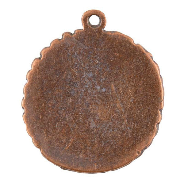 Castings-25x30mm Bezel-Antique Copper-Quantity 1