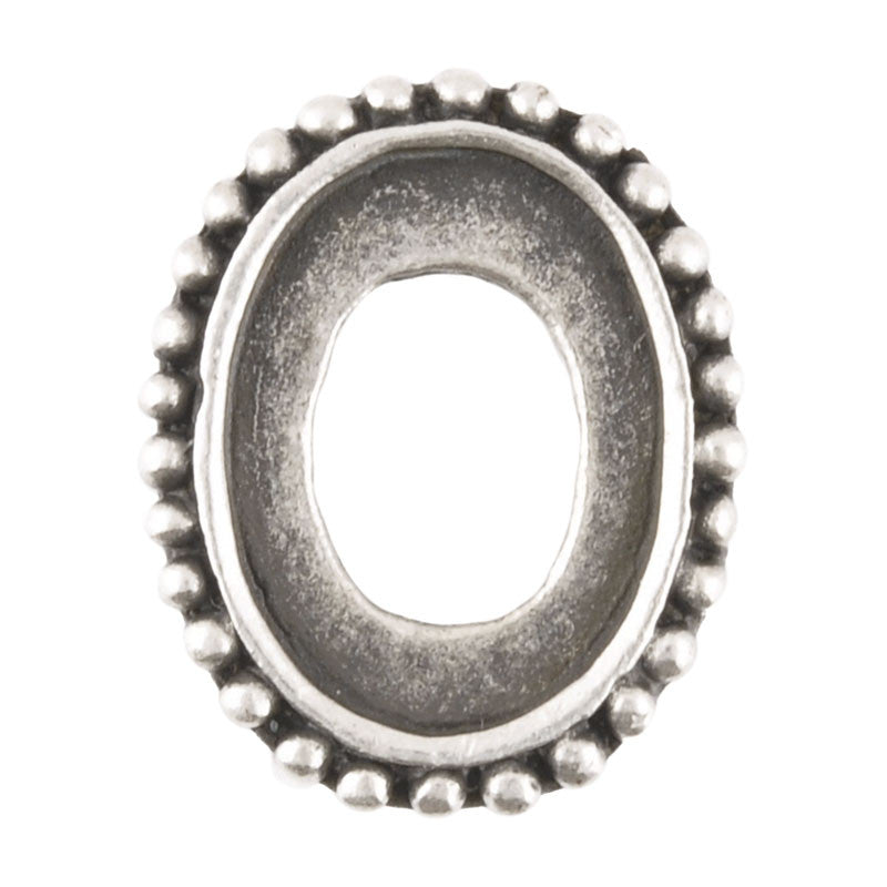 Castings-19x24mm Bezel-Antique Silver