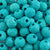 Ceramic Beads-16mm Coarse Round-Turquoise-Quantity 1