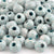 Ceramic Beads-16mm Round-Antique Turquoise-Quantity 1