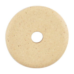 Ceramic Beads-16mm Round Disc-Stone White