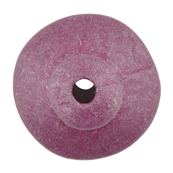 Ceramic Beads-18mm Shaped Top-Violet