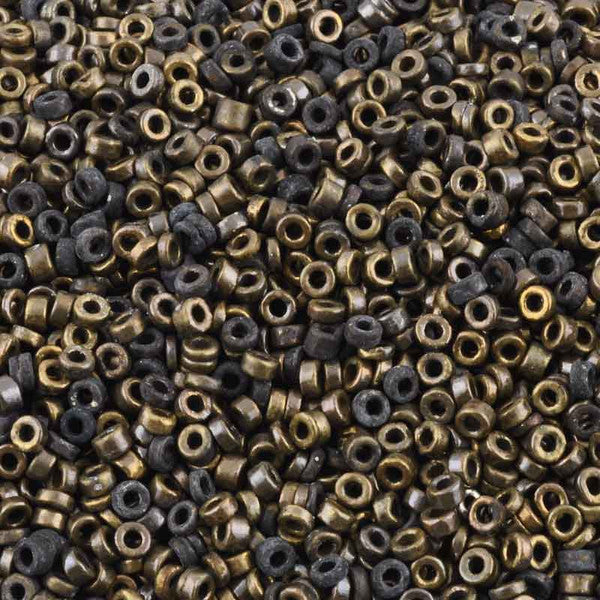 Ceramic Beads-3mm Tube-Antique Bronze
