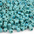 Ceramic Beads-7mm Cube-Seafoam Splash